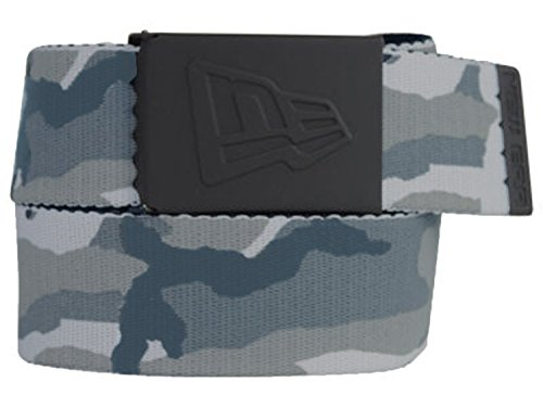 NEW ERA-GUMMIERTE WEB BELT BBL CAMO GRAU -
