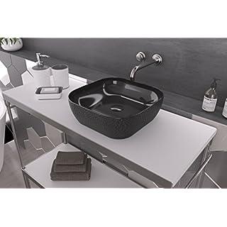 Art & Bath Lav. Salor Basin, Black Gloss, S