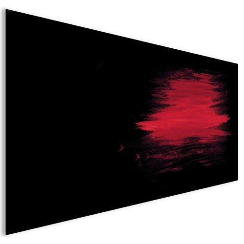 rote-fleck-moderne-abstrakte-acryl-glas-wand-kunst-xl-140cm-x-70cm