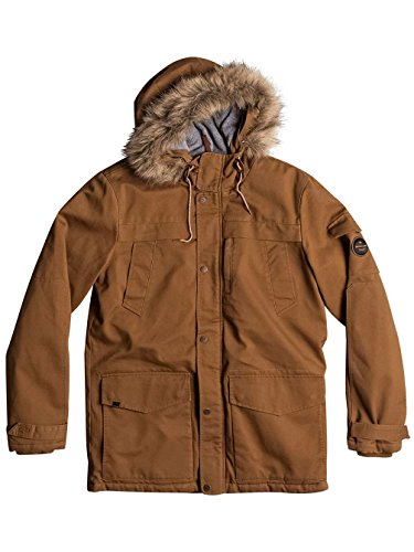 Quiksilver Herren Storm Drop 5k-Waterproof Winter Parka Rubber