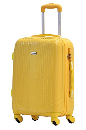 Valise cabine 55cm - Trolley ALISTAIR Airo - ABS - Jaune