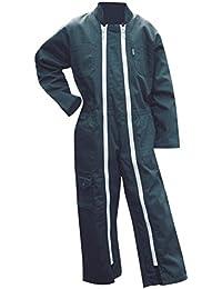 LMA – Combinaison de travail Enfant, 2 zips, Poussin – Vert US – Taille 6 ans