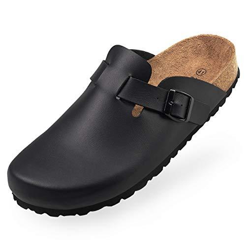BOnova Wesel Bonoflor Hausschuhe Herren Clogs Sandalen Pantoffeln Latschen Schlappen Pantoletten ähnlich Betula schwarz 47