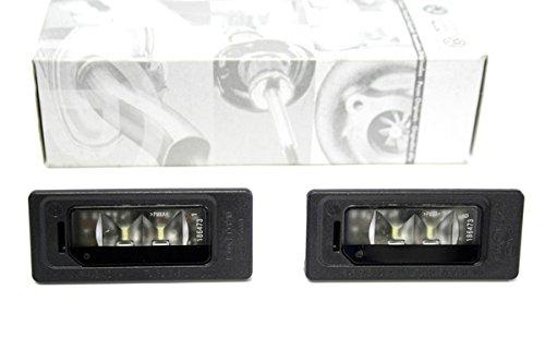 Original Volkswagen LED Kennzeichenleuchten Set 2-teilig Beleuchtung Kennzeichenbeleuchtung Leuchte Heck 3AF943021A