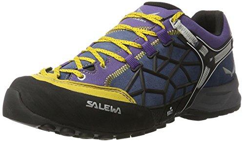 SALEWA - Ms Wildfire Pro, Scarpe sportive Uomo Oro/vari colori (Nugget Gold/Mystical 4017)