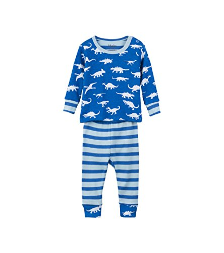 Hatley Baby Boys' Mini Organic Cotton Long Sleeve Pyjama Sets