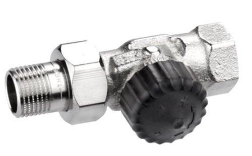 Heimeier HEIMTHDVN12 Thermostat-Ventilunterteil, 2202 Durchgangs Form, 1/2 Zoll -