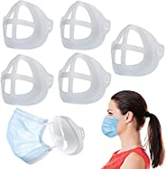 3D Inner Support Frame for Face Mask 5PCS Breathable Reusable Washable Stand Silicone Easy Breathing Comfortab