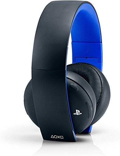 Playstation Gold Kabelloses Stereo-Headset, Jet Black