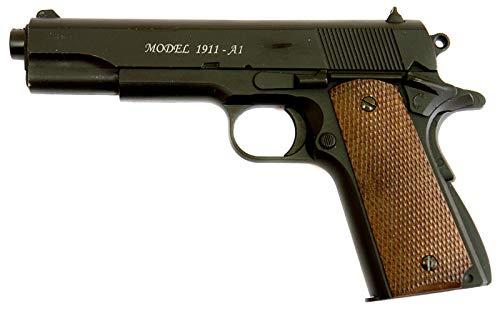 Softair Pistole 1911 A1 mit Metallschlitten, Kal. 6mm BB, Federdruck-System <0.5 Joule -