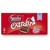 Nestlé Extrafino La Lechera Chocolate con Leche Condensada - Tableta de Chocolate - 25x120g