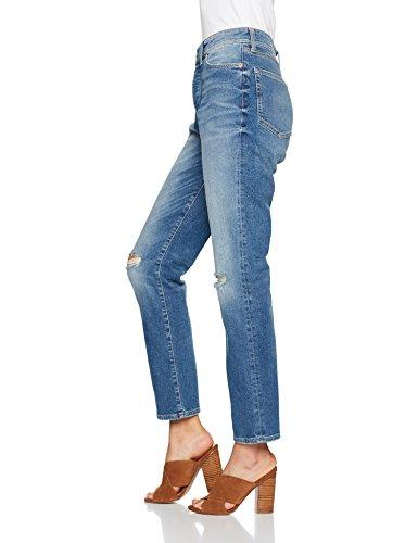 Mavi Damen Straight Jeans Leonie Blau (Shaded Str 24047)