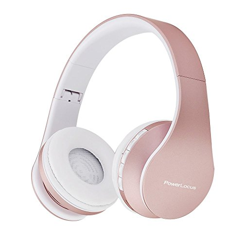PowerLocus-Wireless-Bluetooth-Over-Ear-Stereo-Foldable-Headphones-Wired-Headsets-Noise-Cancelling-with-Built-in-Microphone-for-iPhone-Samsung-LG-iPad-Rose-Gold
