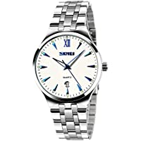 Civo Luxury Stainless Steel Band Casual Business Mens Wrist Watch