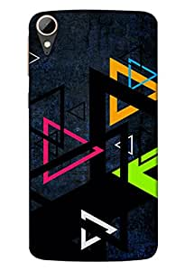 Htc Desire 828 Mobile Back Cover For Htc Desire 828; It Is Matte glossy Thin Hard Cover Of Good Quality (3D Printed Designer Mobile Cover) By Clarks