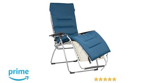 Sedia A Sdraio Classica Lafuma : Lafuma coprimaterasso air comfort imbottito per sedia a sdraio