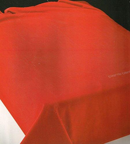 Pierre Cardin - Manta de verano de ALGODÓN,160x240cm, cama de 90. (rojo)
