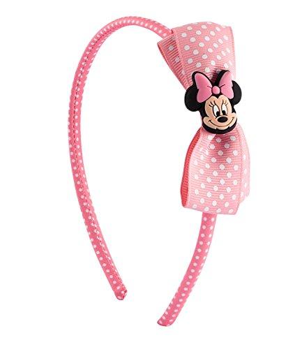ie Mouse Haarreif mit rosa Schleife (305-262) (Mime-mädchen-kostüm)
