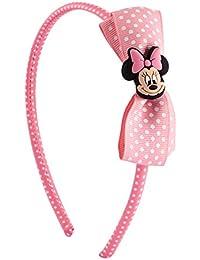 SIX KIDS Disney Minnie Mouse Haarreif mit rosa Schleife (305-262)