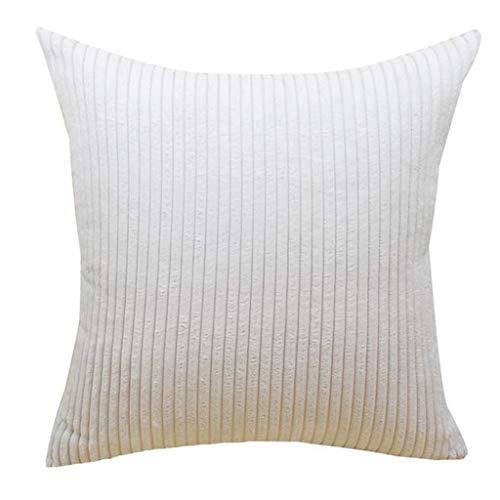 Ceally_federe fodere in velluto a coste decorative copricuscini cuscini salotto divano camera da letto con cerniera invisibile per divano camera da letto e auto, 45x45cm