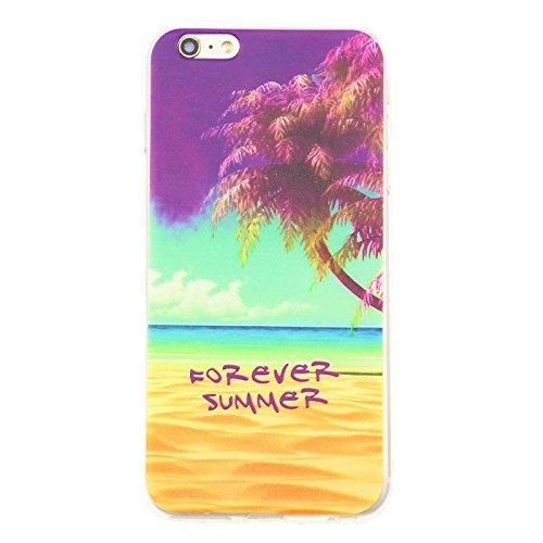 Coque de protection avec motif Case Cover Coque de Protection en Silicone TPU de zhink Arts pour M38 Forever Summer