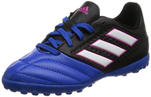 adidas  Ace 17.4 Tf J, Chaussures de Football Entrainement Unisexe - enfant Blue