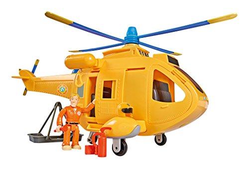feuerwehrmann sam tom thomas Smoby 109251002002- Feuerwehrmann Sam Helicoptere Wallaby 2