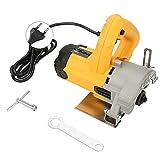 Schneidemaschine Fliese 1450W 220V Marble Cutting Machine Nuten für Steinfliese(EU plug)
