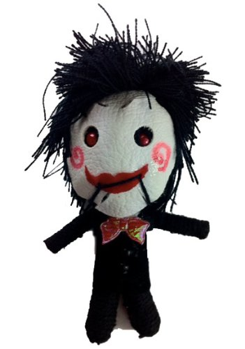 Billy sierra muñeca vudú muñeca de cuerda llavero
