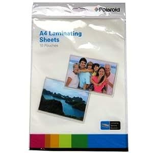 A4 feuilles de stratification - Polaroid - Paquet de 10 Sachets