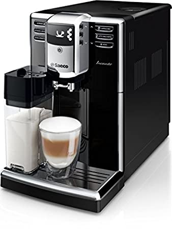 Saeco Incanto hd8916/09 Espresso Machine 1.8L Black – Coffee (Freestanding, fully automatic espresso machine, coffee beans, Ground Coffee, Black, Plastic, Stainless