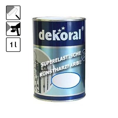 1 Dose weisse Lackfarbe Lack Farbe speziell Metall weiß 10 m² Metallfarbe von DEKORAL bei TapetenShop