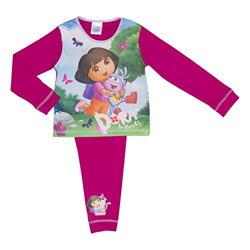 Cartoon Character Products Dora The Explorer Infant Girls Pyjamas - 18 Monate bi - Dora and Boots 2-3 (Boots Dora The Explorer)