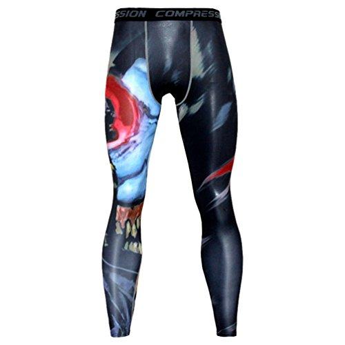 YiJee Hombre Apretado Formación Deportiva Pantalones Aptitud Jogging