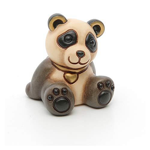 Thun® - panda piccolo con cuore - animali da soprammobile da collezione - ceramica - i classici