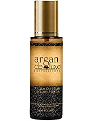 Argan Haaröl in Friseur-Qualität ✔ Geschmeidigkeit, Glanz, toller Duft ✔ pflegt Haare und Haut ✔Argan DeLuxe, 100ml