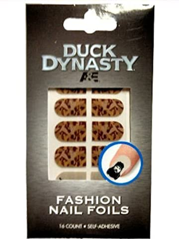 Duck Dynasty Nail Foils Decals (Brown Camo) by DUCK DYNASTY