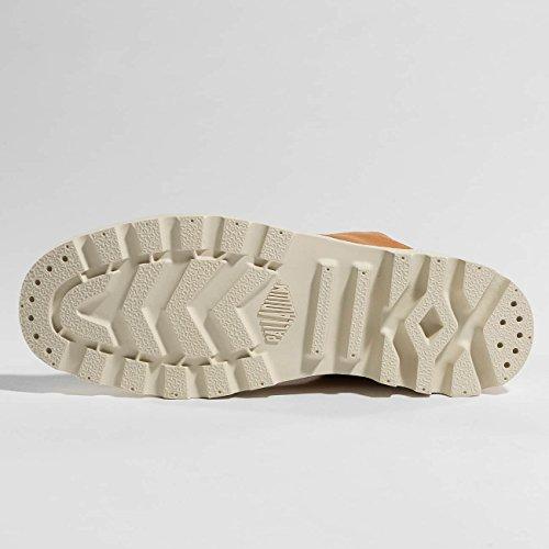 Palladium Pampa Hi Leather Unlined, Sneaker a Collo Alto Unisex – Adulto Marrone