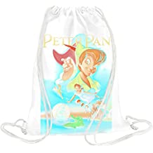 peter pan poster Drawstring bag