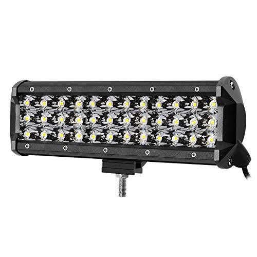 LE Lighting EVER Projecteur Phare LED 108W, IP67 Imperméable, Feux Additionnels pour Véhicule, Camion, SUV, Bateau, Chantier etc