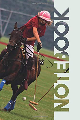 Notebook: Polo Players Chic Composition Book for Chukka Mallet notes por Molly Elodie Rose
