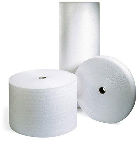 Schaumpolsterfolie Rolle weiß 200 cm x 250 m x 2,0 mm / 20 kg/m³ ** Verpackungseinheit: 1 Rolle **
