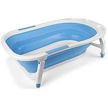 Bañera Bebé Plegable Azul - Bañeras para bebés ...
