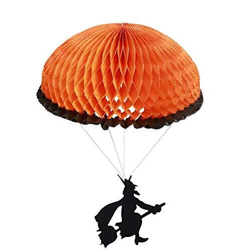 wyxhkj Halloween faltpapier Fallschirm Dekorationen Interessante Dekorationen (A)