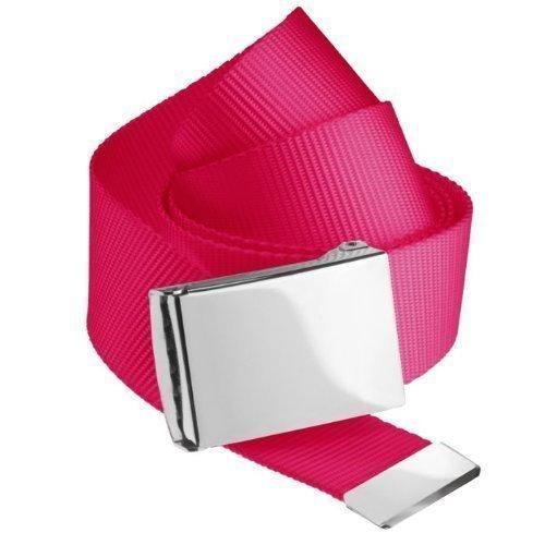 Masterdis Premium Woven Belt in magenta