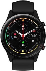 ساعة يد شاومي مي لون اسود، ساعة رياضية ذكية، 1.39 انش AMOLED مضاد للخدش، GPS، SPO2، 117، وضع رياضي، مقاومة للم