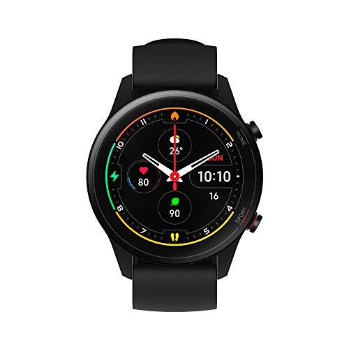 """Oferta de Xiaomi Mi Watch Pantalla 1.39"""" AMOLED, Medición de Nivel de oxígeno en Sangre, y seguimiendo de 100+ Ejercicios, Color Negro"""