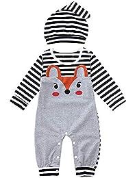 4f13b513c Amazon.in  Black - Bodysuits   One-Pieces   Baby Boys 0-24m ...