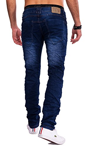Jeansnet Mens Blue Jeans BLAZE Nr.1556 Slim Fit Blau