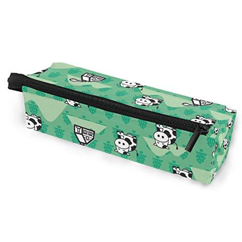 Sonnenbrille Fall Stift Federmäppchen Cutt Tier Cartoon Lächeln Kuh Briefpapier Beutel Aufbewahrungsbox Kosmetiktaschen Brillen Tasche mit Aufhängeöse